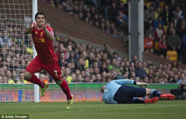 Hình ảnh: Salah chuẩn bị phá kỷ lục ghi bàn của Suarez ở Liverpool