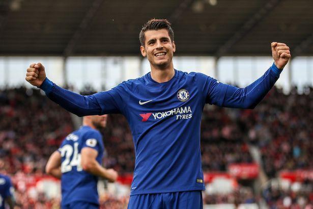 Hình ảnh: Chelsea luôn giành được nhiều kết quả có lợi khi Morata có mặt trong đội hình
