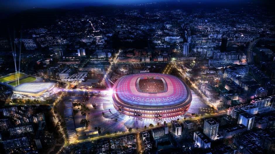 Hình ảnh: SVĐ Camp Nou khi được hoàn thành việc nâng cấp