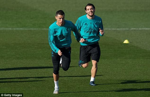 Hình ảnh: Ronaldo đã trở lại tập luyện bình thường cùng các đồng đội trong buổi tập hôm nay