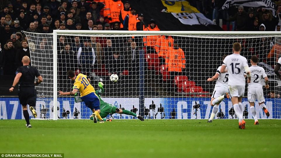 Hình ảnh: Dybala ấn định chiến thắng cho Juventus