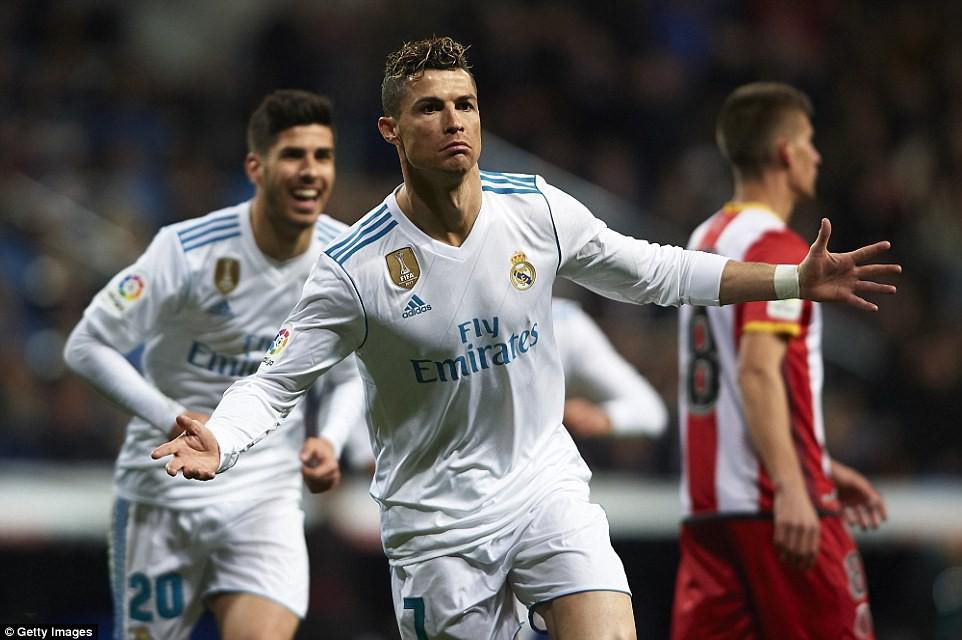 Hình ảnh: Thế nhưng Ronaldo đang trở lại mạnh mẽ trong năm 2018 với phong độ ghi bàn khủng khiếp