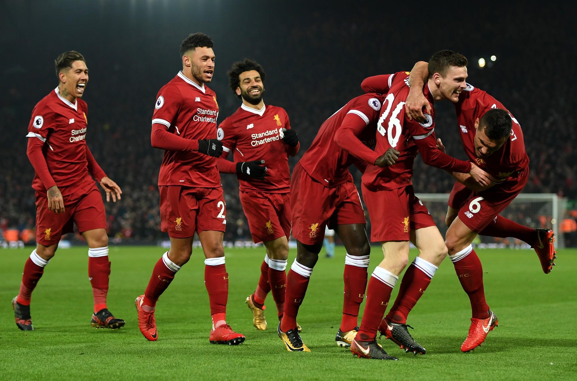 Hình ảnh: Tinh thần của Liverpool đang rất hưng phấn sau chiến thắng trước Man City