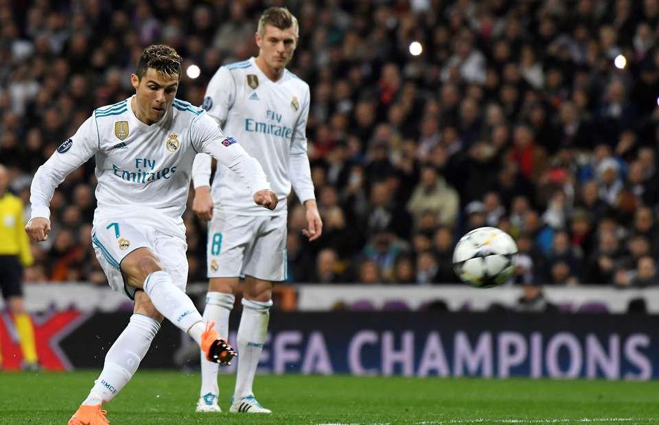 Hình ảnh: Không một cầu thủ nào ở Châu Âu có tần suất ghi bàn nhiều hơn Ronaldo trong năm 2018