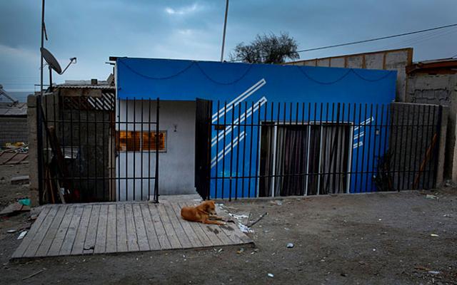 Hình ảnh: Căn nhà tuềnh toàng nơi Sanchez từng sống