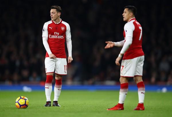 Hình ảnh: Tương lai của Sanchez và Ozil vẫn bất định