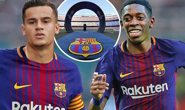 Hình ảnh: Việc Barca liên tục đem về những bom tấn đắt giá khiến Real không thể ngôi yên