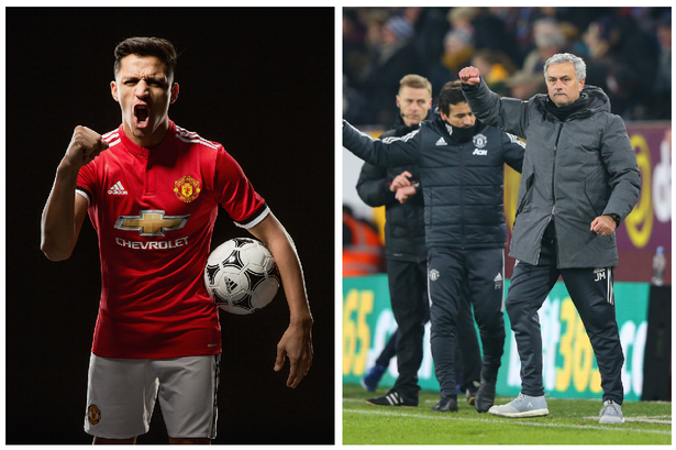 Hình ảnh: Sẽ là một ngày vui trọn vẹn với Mourinho nếu MU chiến thắng và Sanchez ghi bàn