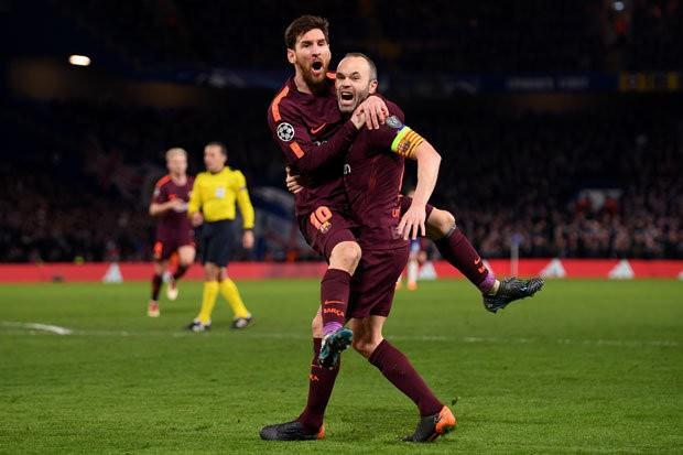 Hình ảnh: Barca đang nắm trong tay lợi thế lớn ở trận lượt về
