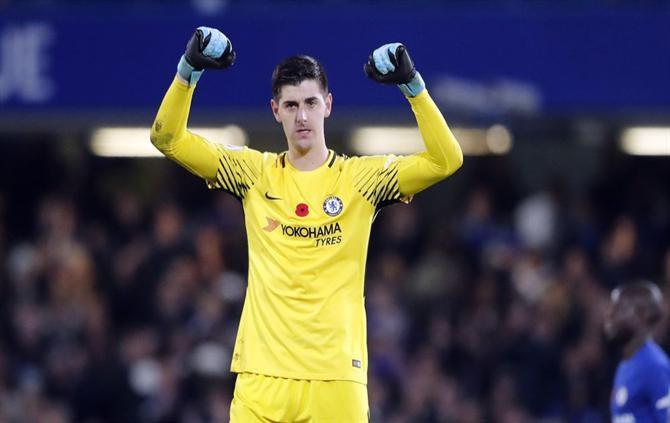 Hình ảnh: Chelsea đang làm mọi cách để giữ chân Courtois
