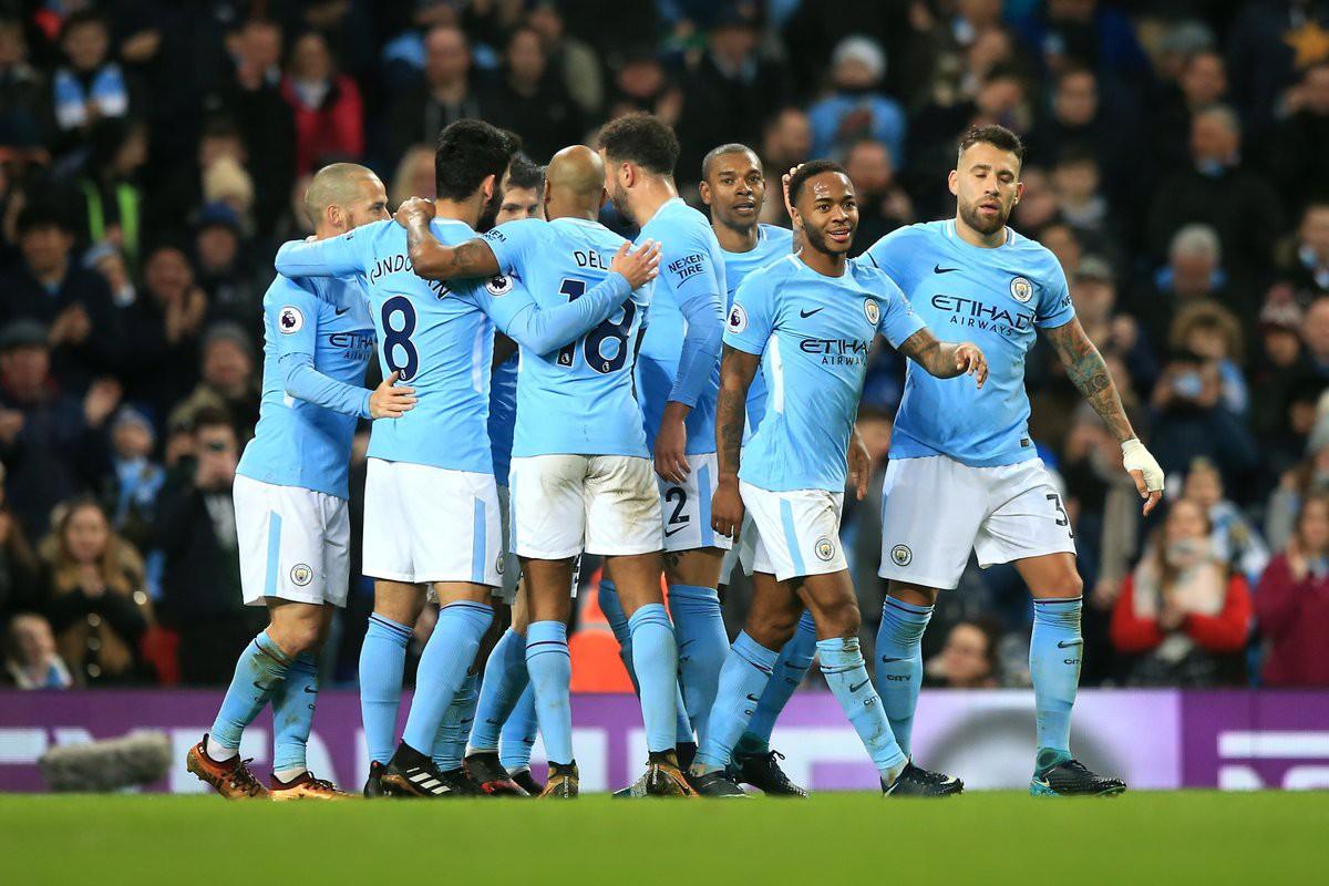 Hình ảnh: Man City đã có 17 trận thắng liên tiếp ở giải NHA mùa này