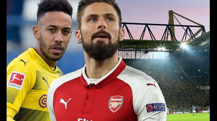 Hình ảnh: Dortmund muốn Giroud là một phần của BHĐ