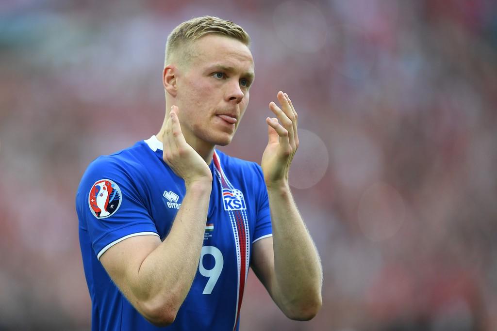 Hình ảnh: Sigþórsson là cơn ác mộng với người Anh