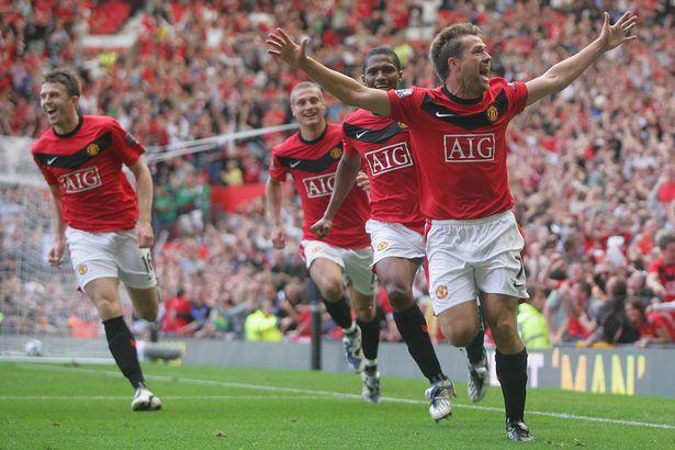 Hình ảnh: Owen tới Man Utd khi đã ở bên kia sườn dốc của sự nghiệp