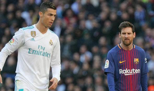 Hình ảnh: Chỉ cách đây 3 tháng, Ronaldo còn đang kém Messi tới 11 bàn