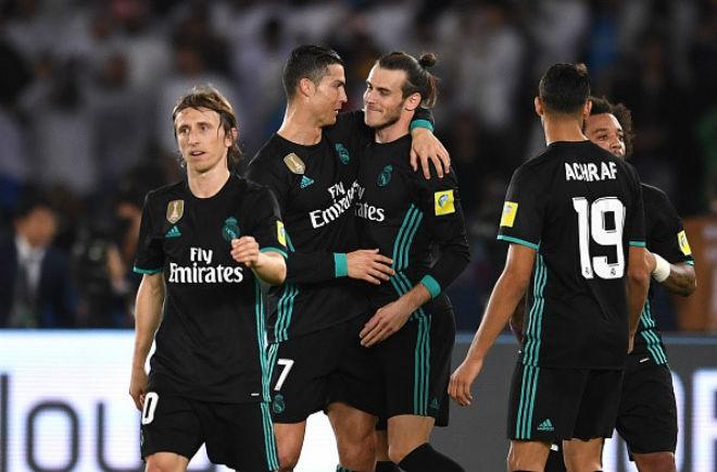 Hình ảnh: Màn tái hợp của cặp song sát Ronaldo - Bale hứa hẹn sẽ giúp Real giành chiến thắng