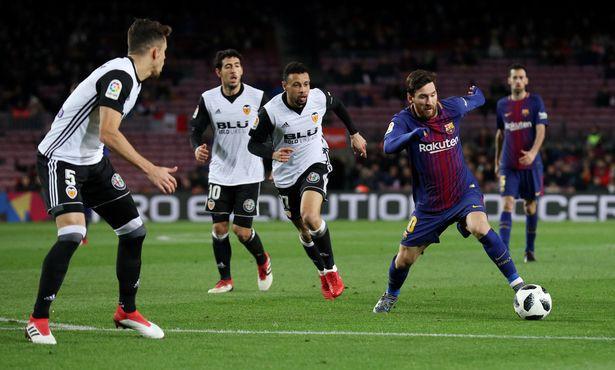 Hình ảnh: Barcelona dồn ép đối thủ suốt cả trận