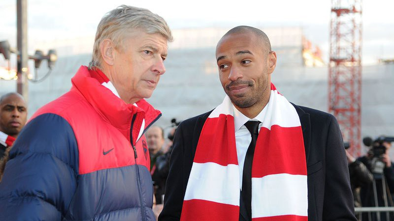Hình ảnh: Henry muốn kế nhiệm Wenger trong tương lai không xa