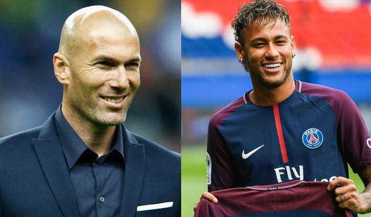 Hình ảnh: PSG muốn có được Zidane thì mới đồng ý nhả Neymar