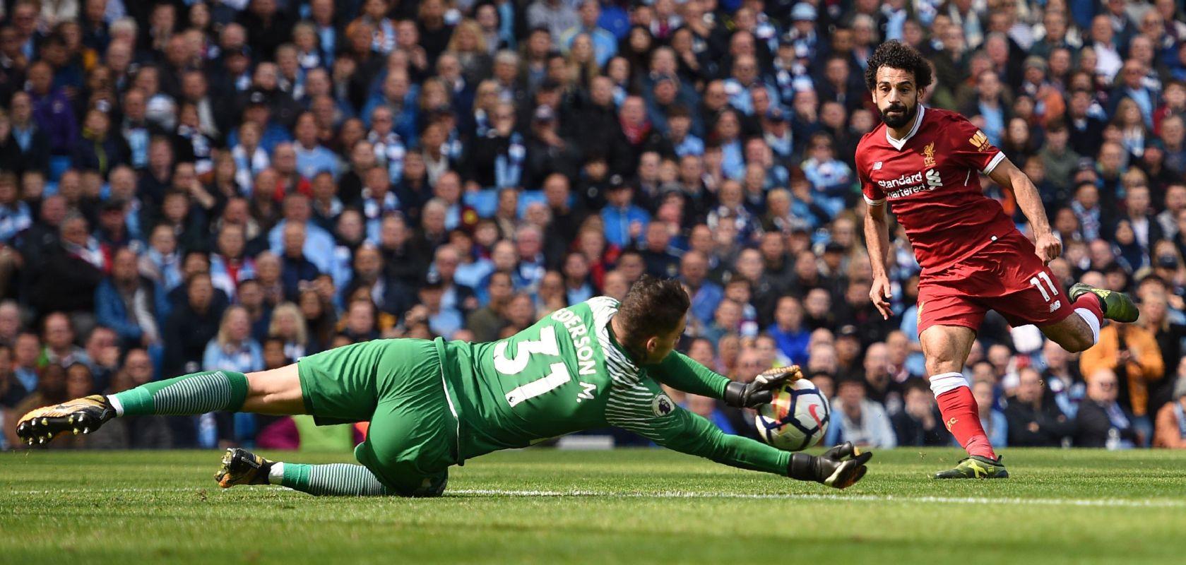 Hình ảnh: Liverpool là đội tung ra nhiều pha dứt điểm về khung thành Man City nhất mùa này