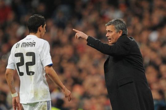 Hình ảnh: Mourinho đã dìu dắt Di Maria trở thành ngôi sao sáng như hiện tại