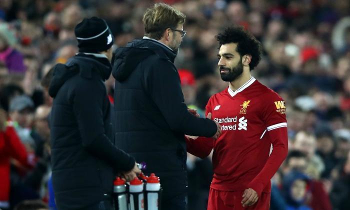 Hình ảnh: Việc Salah bị đau và có thể vắng mặt sẽ ảnh hưởng ít nhiều tới hàng công của The Kop