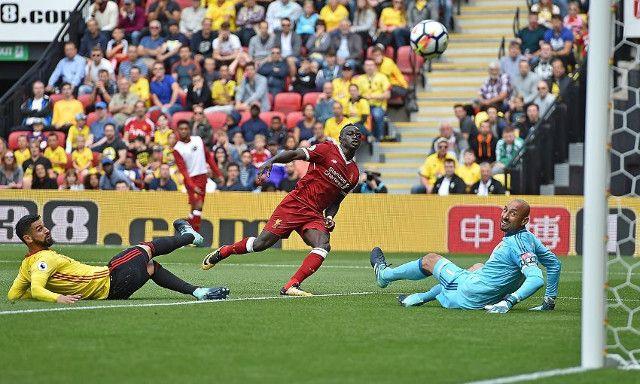 Hình ảnh: Mane đã ghi bàn trong cả 2 lần đối đầu với Watford