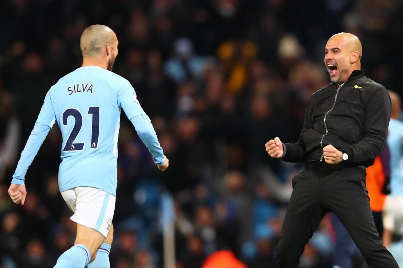 Hình ảnh: Trong khi đó Pep Guardiola cùng Man City đang reo rắc nỗi kinh hoàng cho cả giải đấu