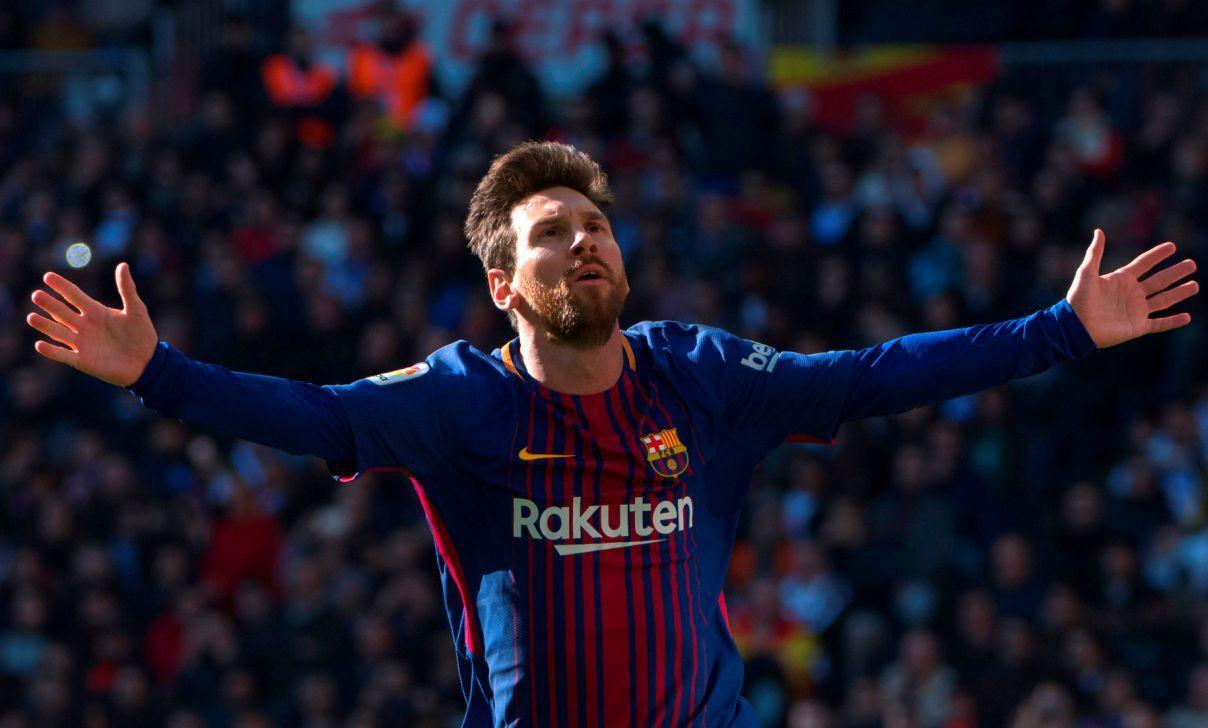 Hình ảnh: Messi đã có một trận đấu rực sáng trước Real Madrid