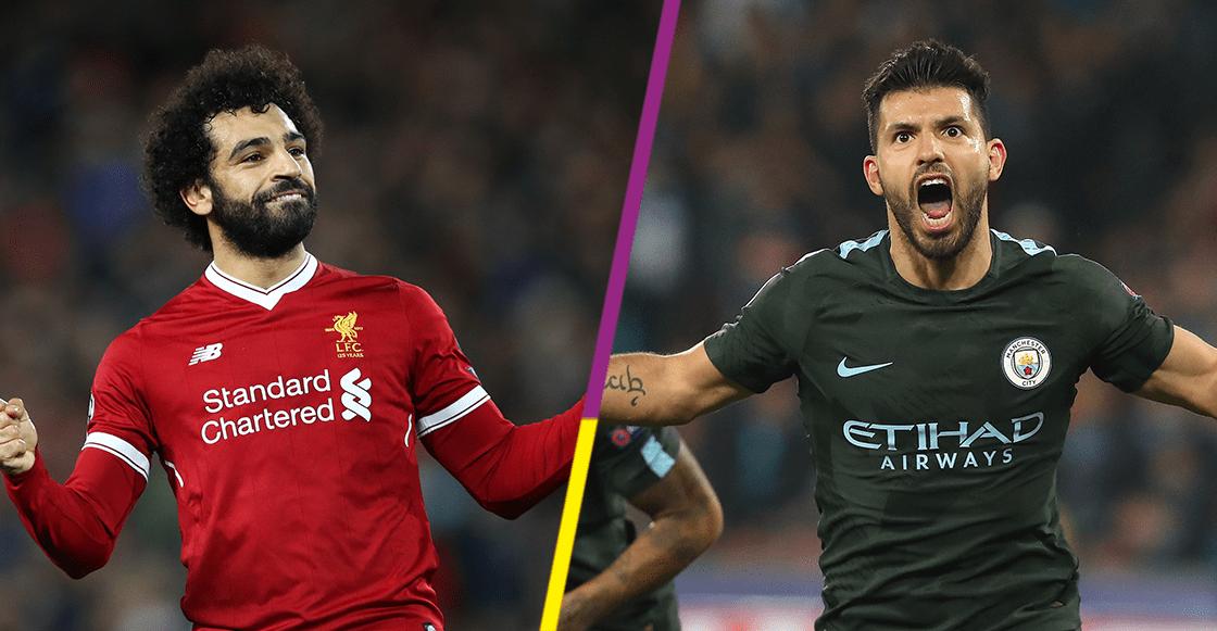 Hình ảnh: Màn so tài giữa Salah và Aguero chắc chắn sẽ rất hấp dẫn