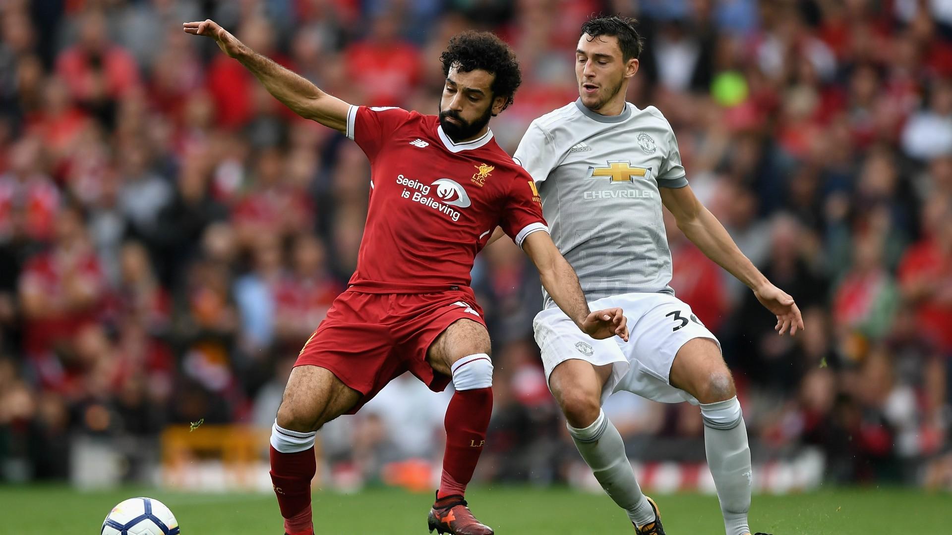 Hình ảnh: NHM đang rất mong chờ Salah sẽ sút tung lưới MU tối nay
