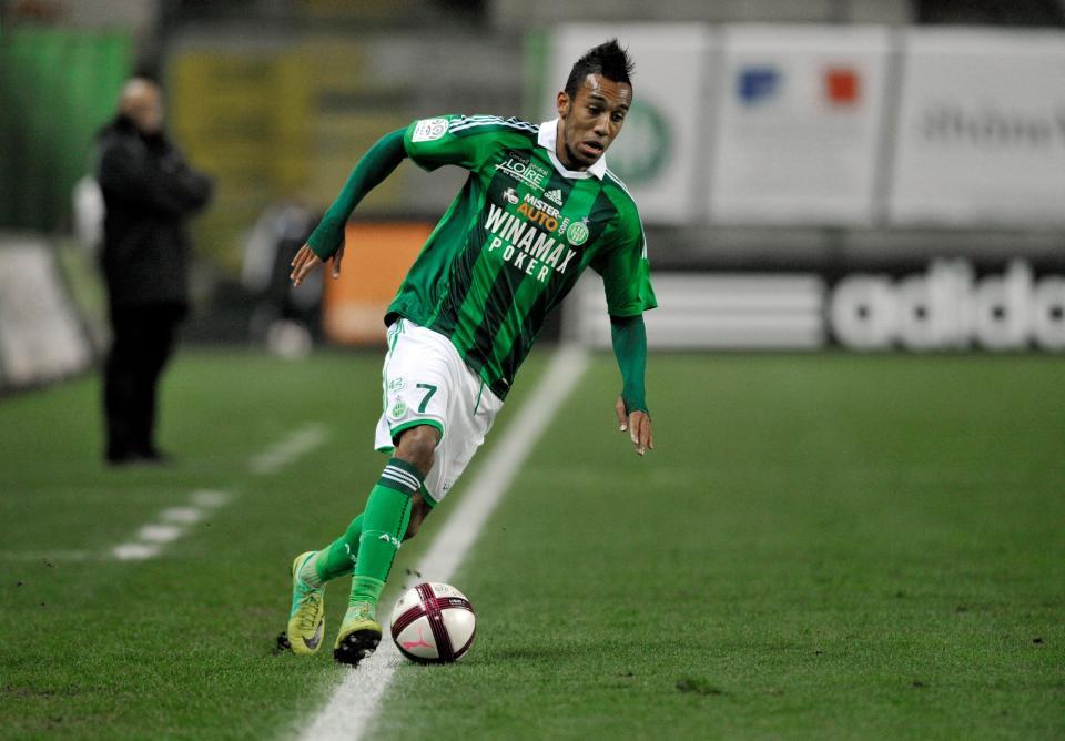 Hình ảnh: Aubameyang từng có cơ hội tới NHA thi đấu sau khi gây được tiếng vang ở Saint Etienne