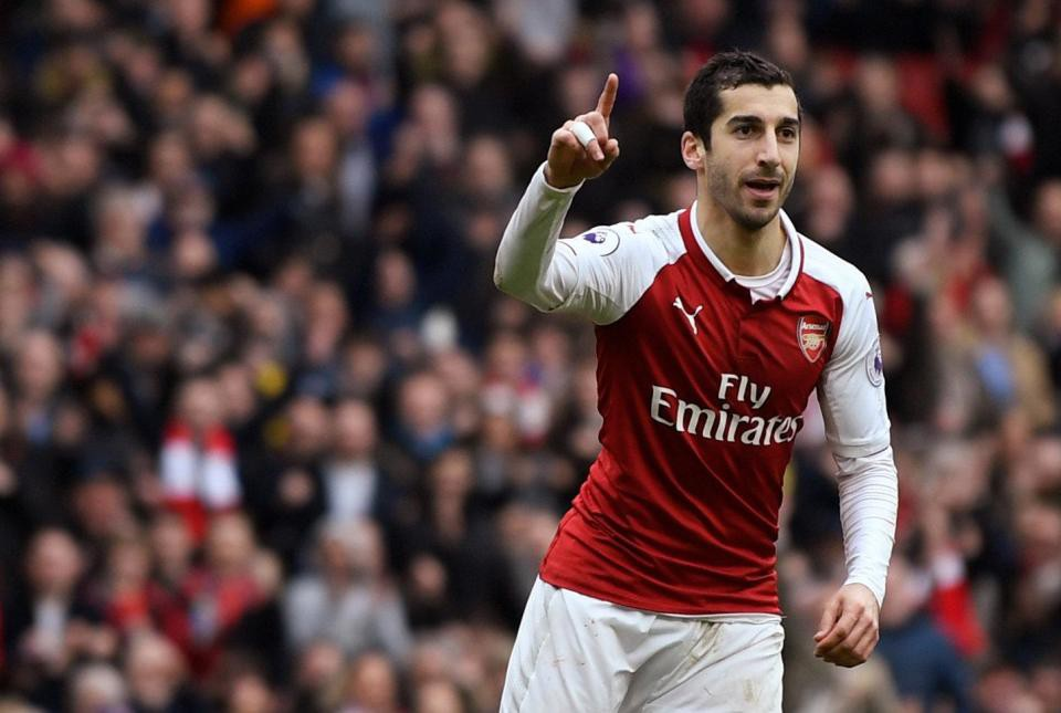 Hình ảnh: Mkhitaryan đang tạo ra tầm ảnh hưởng to lớn ở Arsenal