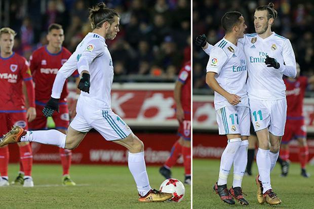Hình ảnh: Bale trở lại và đã ghi bàn trong trận đấu đầu tiên được đá chính từ tháng 11