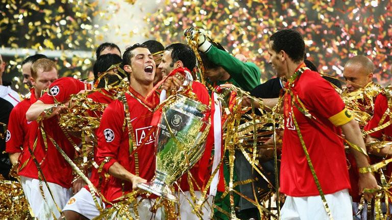 Hình ảnh: CR7 đã giành mọi vinh quang cùng Man Utd