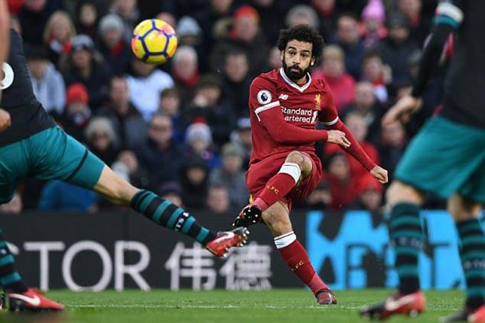 Hình ảnh: Salah là chân sút có hiệu suất ghi bàn tốt nhất lịch sử nếu không có quãng thời gian khoác áo Chelsea