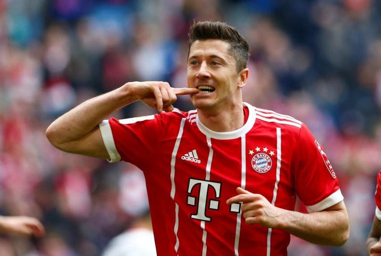 HÌnh ảnh: Real đạt thỏa thuận cá nhân với Lewandowski