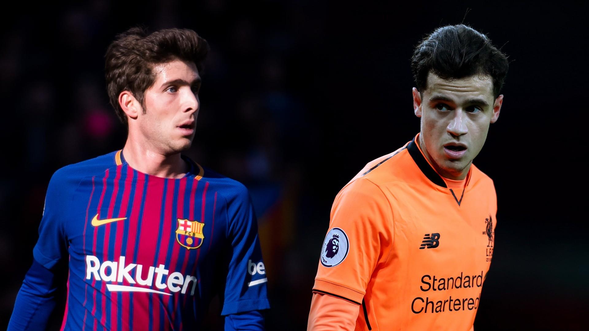 Hình ảnh: Klopp muốn có Sergi Robert cộng tiền thì mới chịu nhả Coutinho