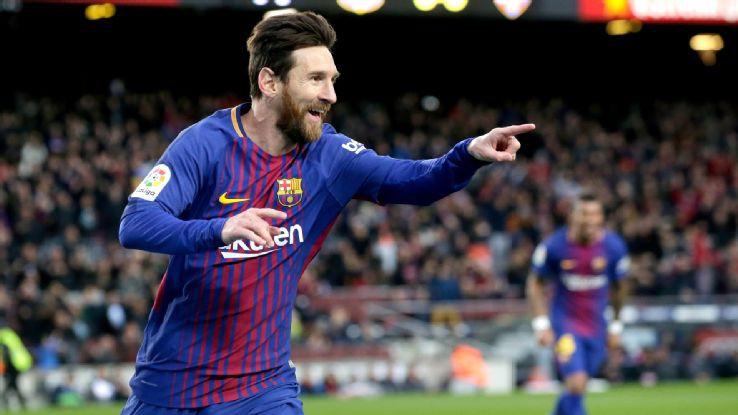 Hình ảnh: Barca trông cậy vào phong độ ghi bàn cực cao của Messi