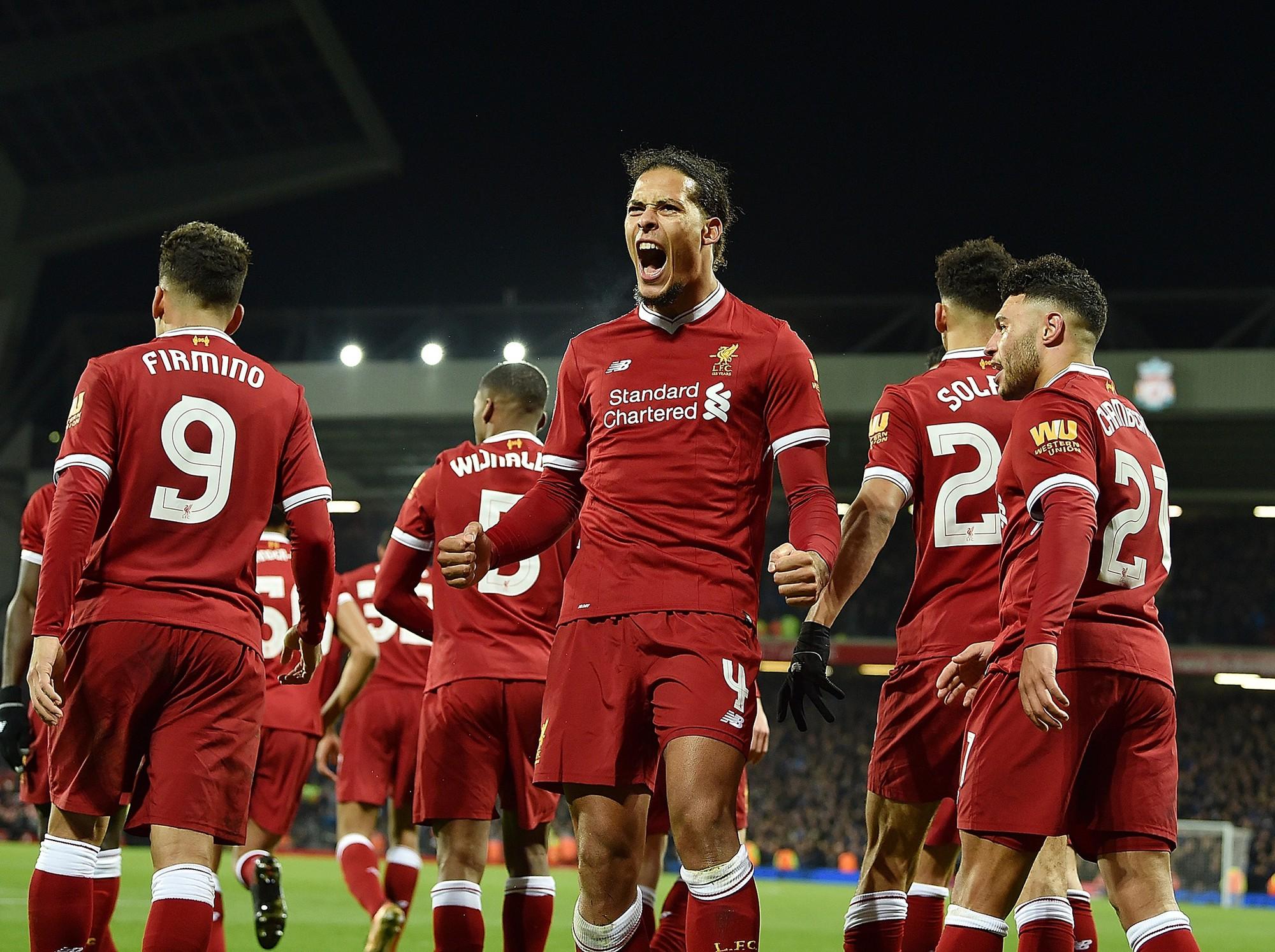 Hình ảnh: Van Dijk sẽ có trận ra mắt Liverpool ở giải NHA