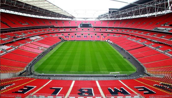 Hình ảnh: Bên trong SVĐ Wembley