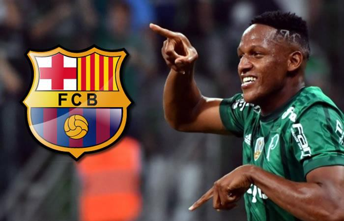 Hình ảnh: Yerry Mina đã được thỏa ước nguyện gia nhập Barca