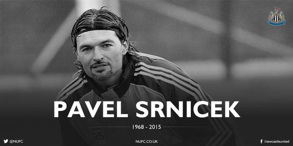 CLB Newcastle xác nhận sự ra đi của Pavel Srnicek.