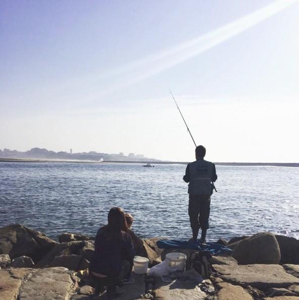 Casillas và bạn gái Sara Carbonero đều mê câu cá.