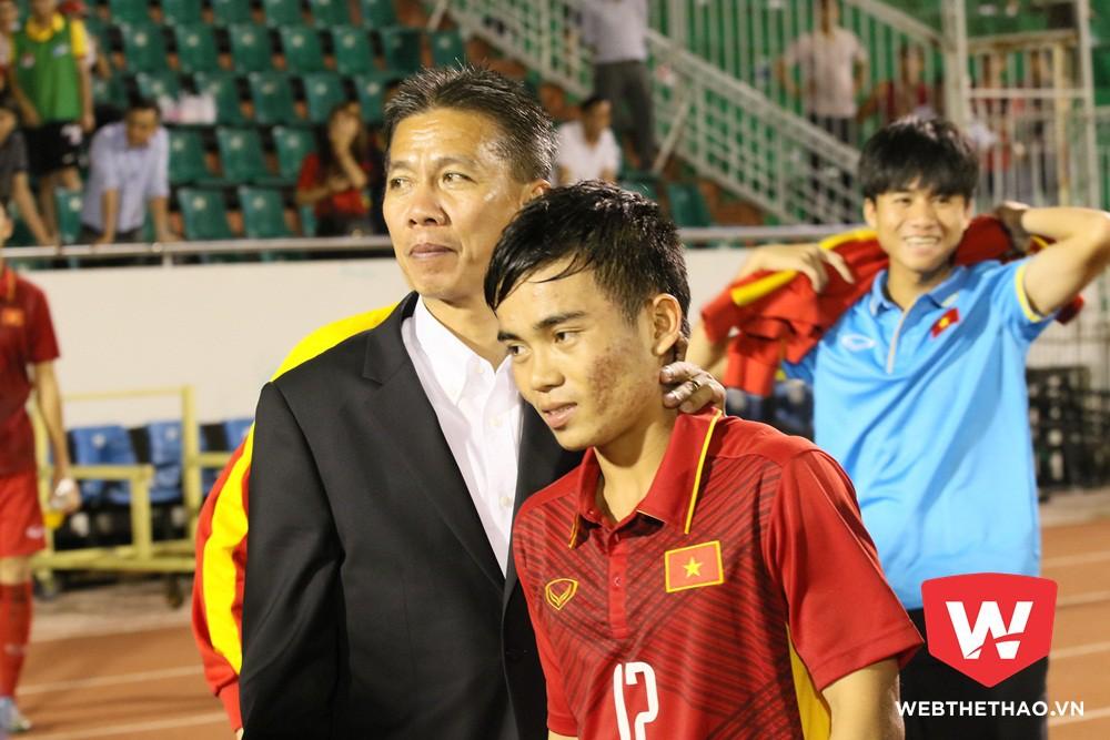 Hoàng Nam là đội phó của U20 Việt Nam. Ảnh: Văn Nhân