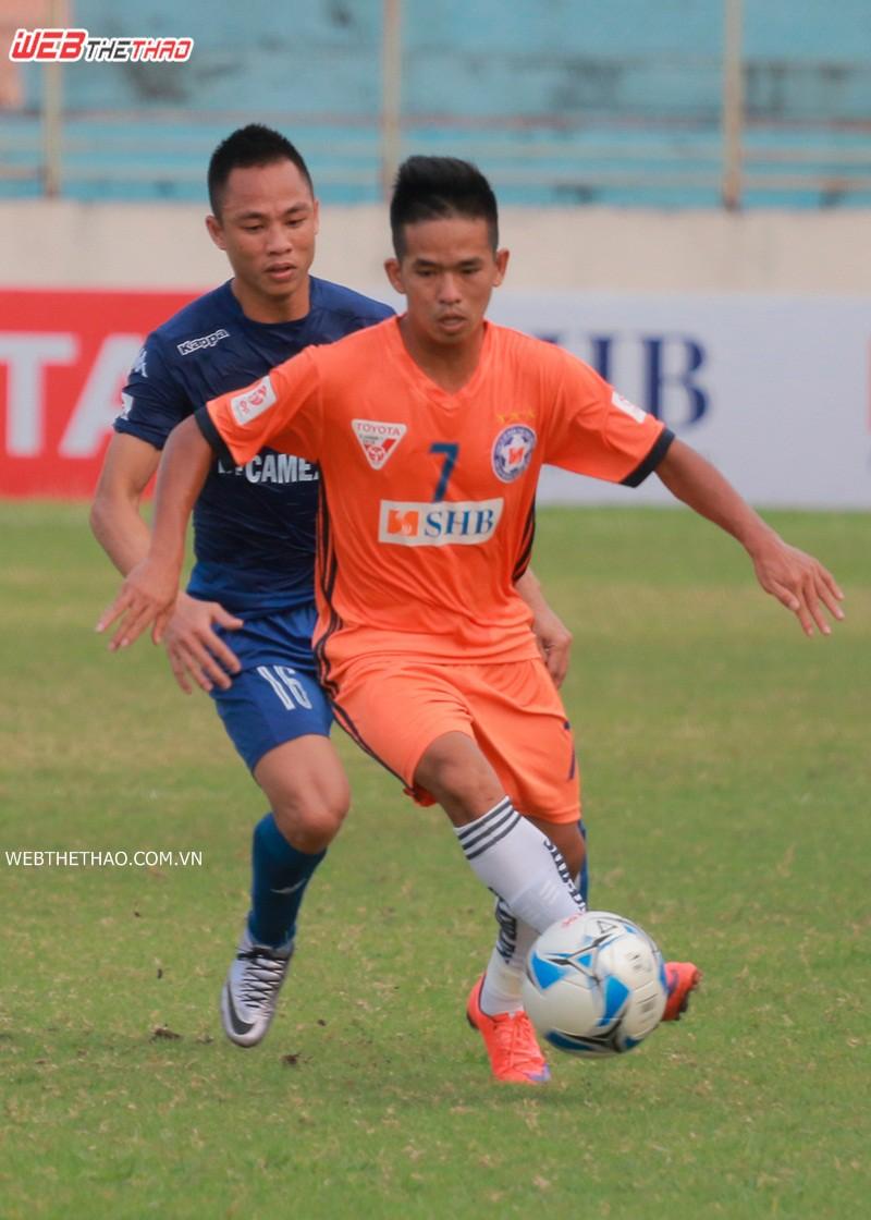 Rất thích lối chơi của Thanh Hải nên HLV Lê Huỳnh Đức đã chiêu mộ cầu thủ này. Ảnh: THANH VIỆT