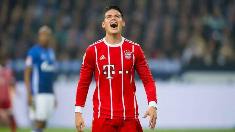 Hình ảnh: James đã ghi 1 bàn và có 3 pha kiến tạo ở 2 trận gần nhất nhưng được cho là vẫn không hài lòng ở Bayern