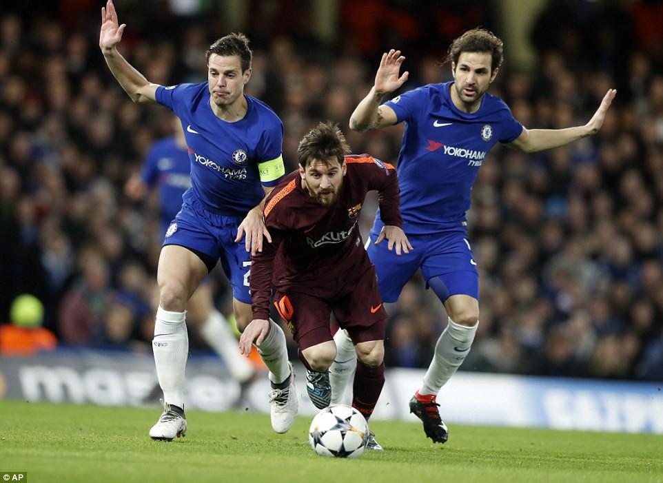 Hình ảnh: Messi bước vào trận đấu với cơn khô hạn ghi bàn trước Chelsea