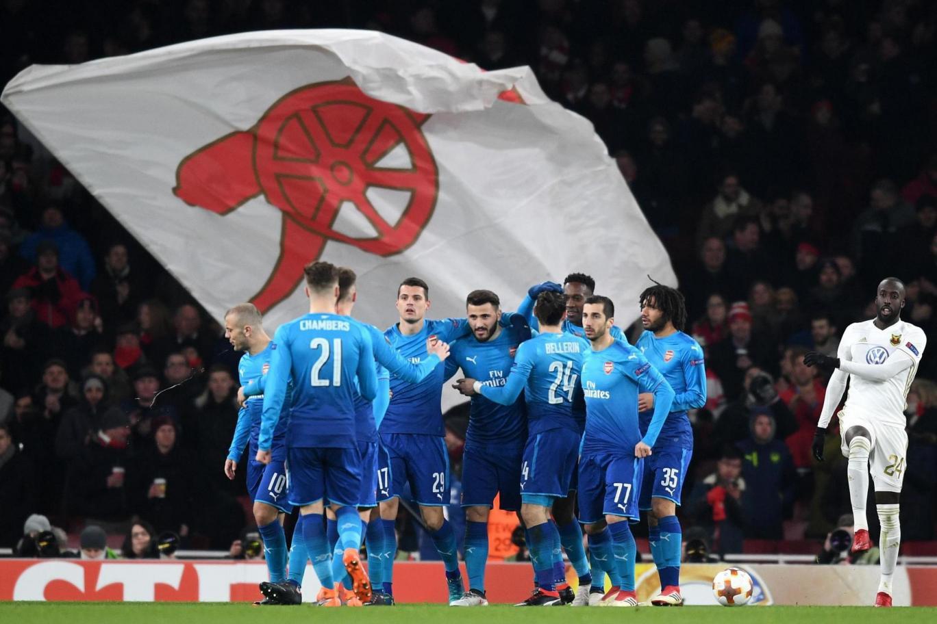 Hình ảnh: Arsenal sẽ phải gượng dậy thật nhanh sau thất bại ở CK Liên đoàn Anh
