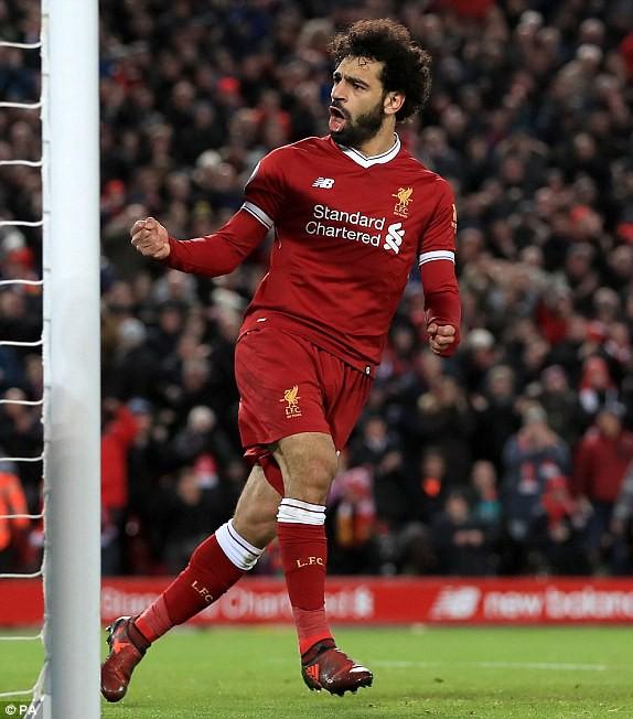 Hình ảnh: Salah đã có 17 bàn mùa này